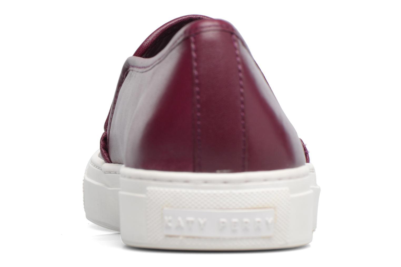 Baskets Katy Perry The Heart Bordeaux vue droite