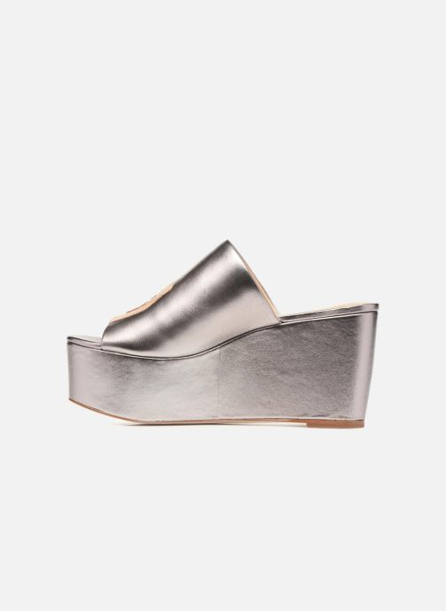 Mules & clogs Katy Perry The Rebecca Silver front view
