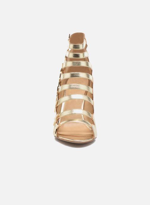 Sandali e scarpe aperte Katy Perry The Stella Oro e bronzo modello indossato