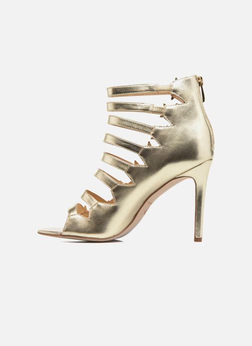Sandalias Katy Perry The Stella Oro y bronce vista de frente