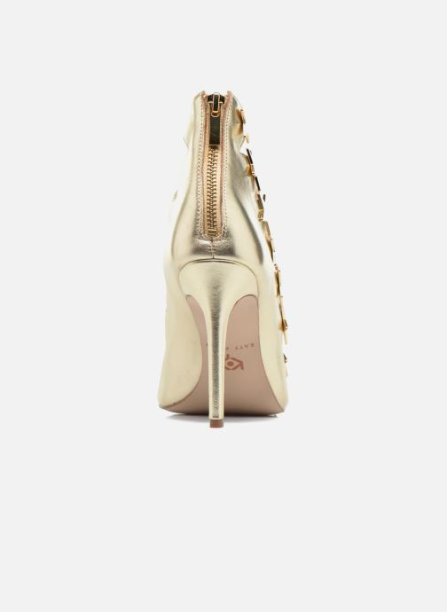 Sandalias Katy Perry The Stella Oro y bronce vista lateral derecha