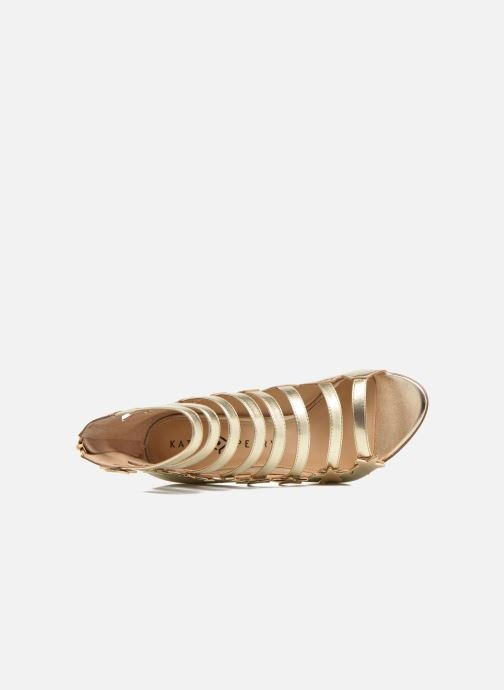 Sandalias Katy Perry The Stella Oro y bronce vista lateral izquierda