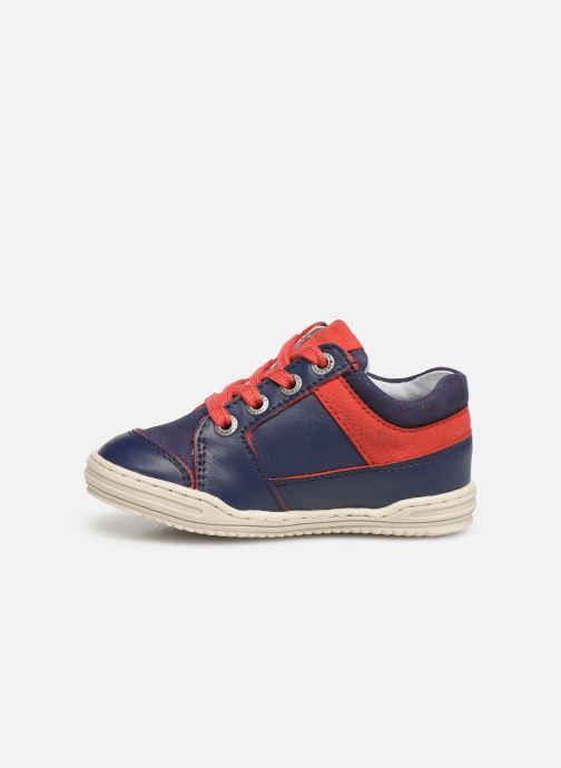 Sneakers Kickers Jinjang Blauw voorkant