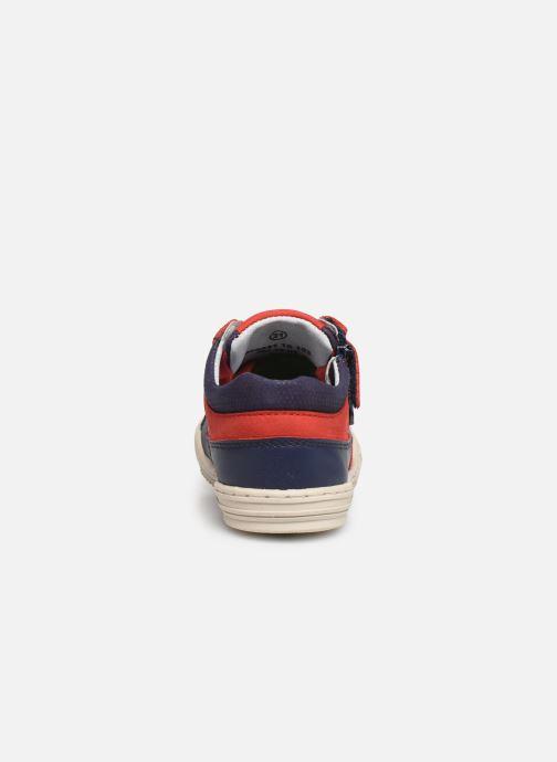 Baskets Kickers Jinjang Bleu vue droite