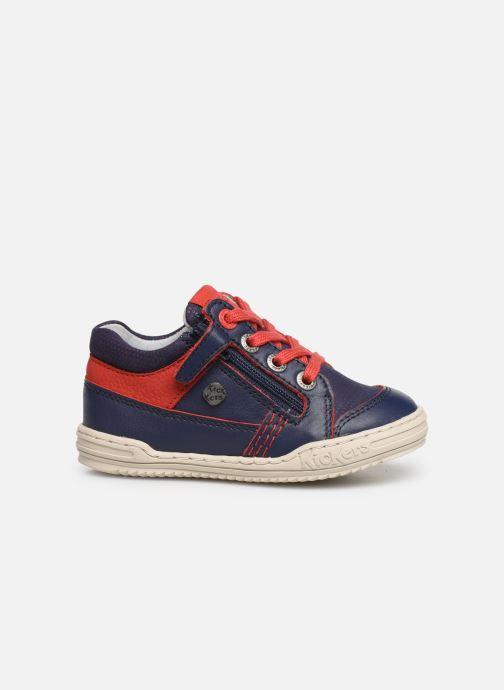 Sneakers Kickers Jinjang Blauw achterkant