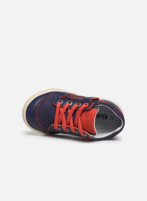 Baskets Kickers Jinjang Bleu vue gauche