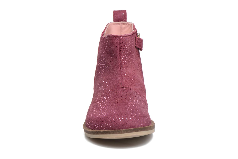 Bottines et boots Kickers Mooky Rose vue portées chaussures