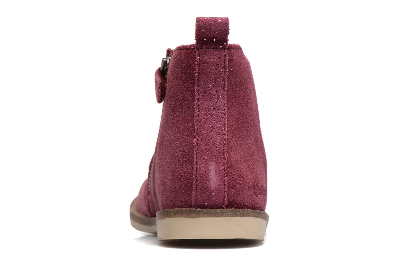 Bottines et boots Kickers Mooky Rose vue droite