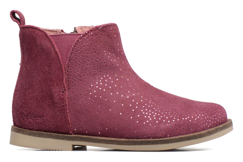 Bottines et boots Kickers Mooky Rose vue derrière
