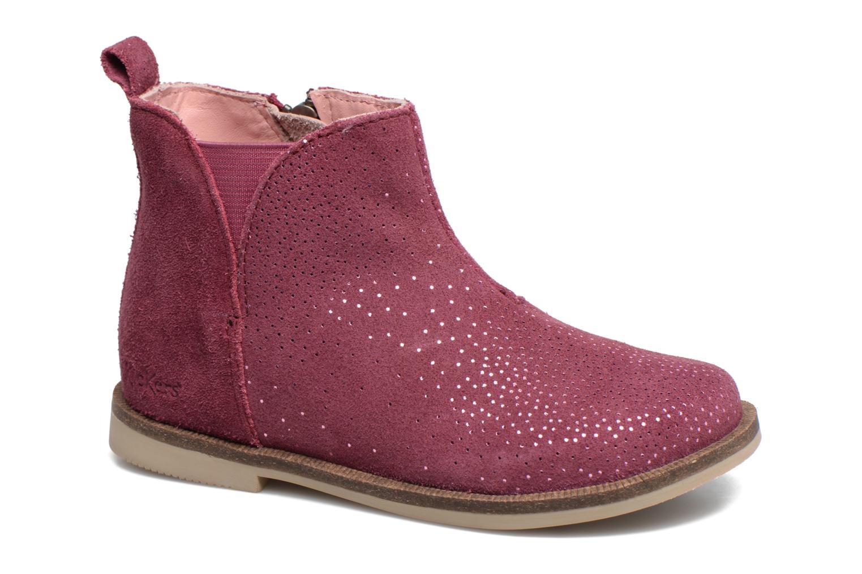 Bottines et boots Kickers Mooky Rose vue détail/paire