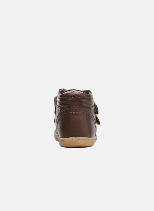 Sneakers Kickers Trackpad Bruin rechts