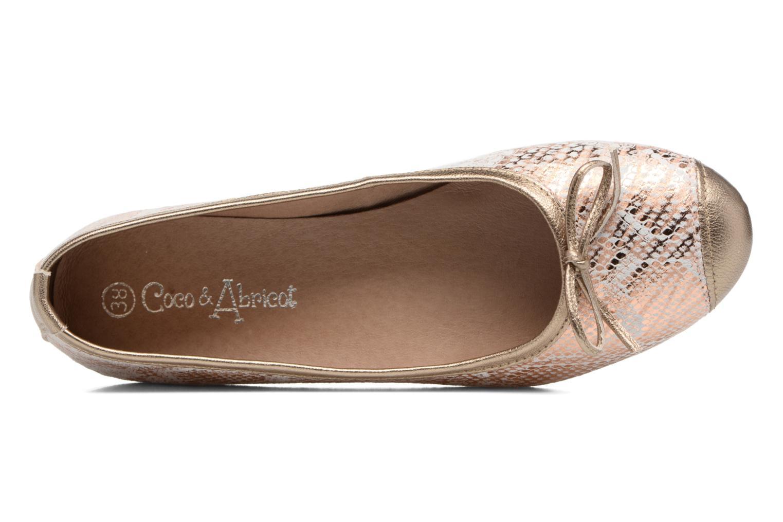 Ballerina's Coco et abricot Belline 4 Goud en brons links