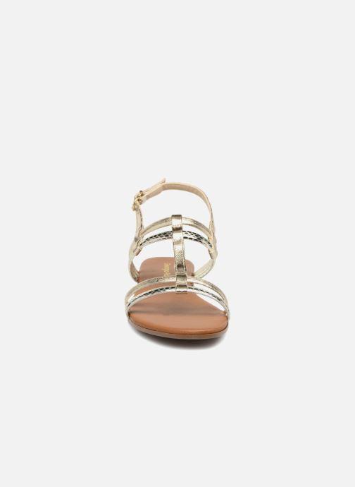 Sandales et nu-pieds Georgia Rose Mollie Or et bronze vue portées chaussures