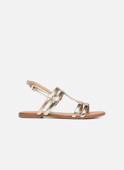 Sandales et nu-pieds Georgia Rose Mollie Or et bronze vue derrière