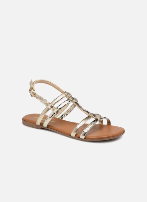 Sandales et nu-pieds Georgia Rose Mollie Or et bronze vue détail/paire