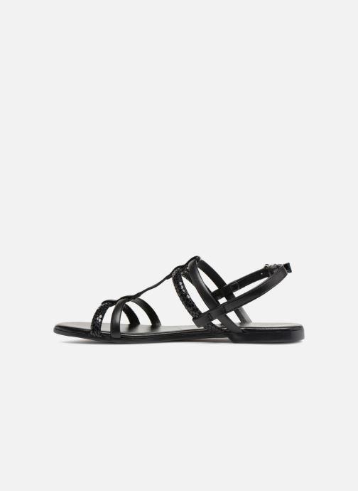Sandales et nu-pieds Georgia Rose Mollie Noir vue face