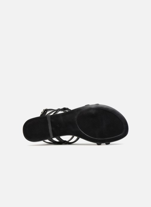 Sandales et nu-pieds Georgia Rose Mollie Noir vue haut