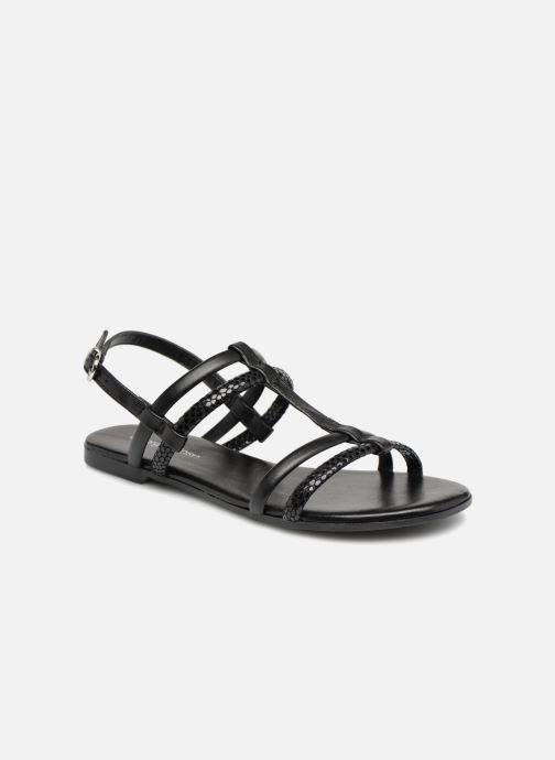 Sandales et nu-pieds Georgia Rose Mollie Noir vue détail/paire
