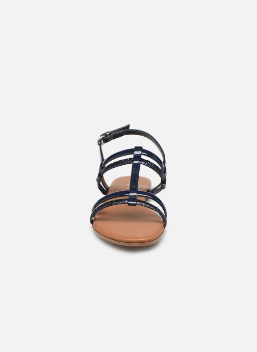 Sandales et nu-pieds Georgia Rose Mollie Bleu vue portées chaussures