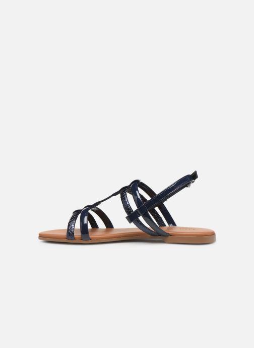Sandales et nu-pieds Georgia Rose Mollie Bleu vue face
