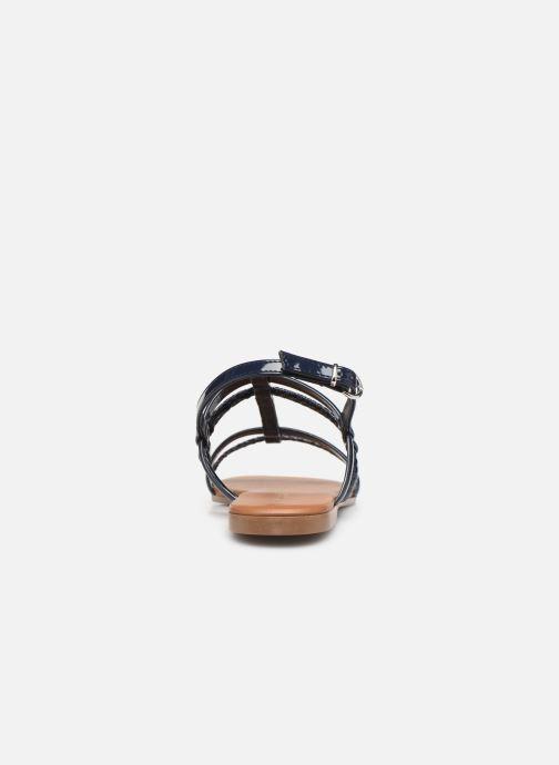 Sandales et nu-pieds Georgia Rose Mollie Bleu vue droite