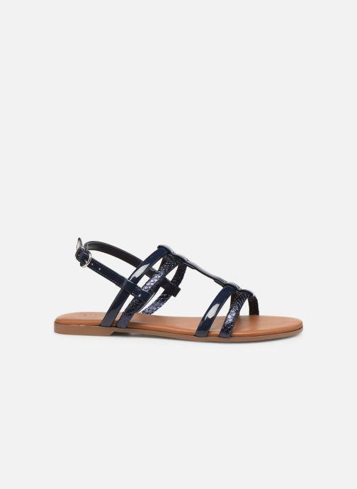 Sandales et nu-pieds Georgia Rose Mollie Bleu vue derrière
