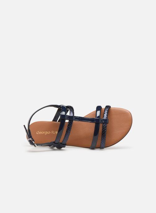Sandales et nu-pieds Georgia Rose Mollie Bleu vue gauche