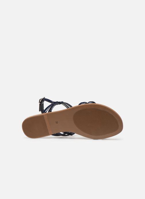Sandales et nu-pieds Georgia Rose Mollie Bleu vue haut