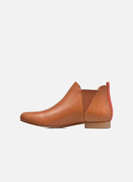 Ankle boots Anaki Morena Brown front view