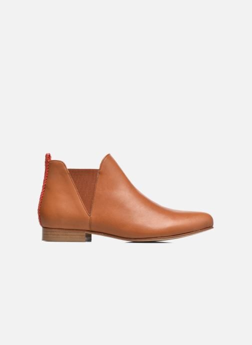 Ankle boots Anaki Morena Brown back view