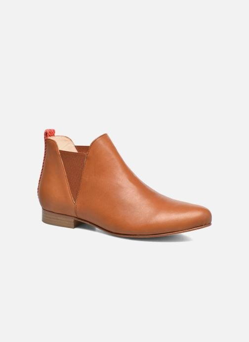 Ankle boots Anaki Morena Brown detailed view/ Pair view