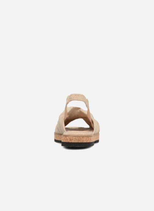 Sandals Anaki Mismi Beige view from the right