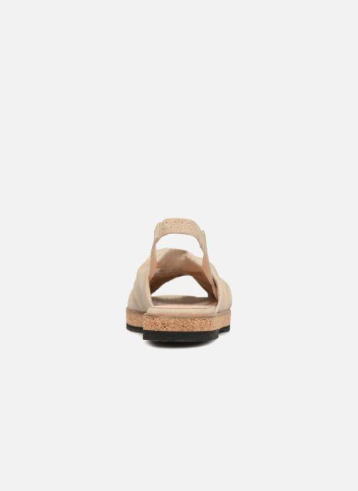 Sandali e scarpe aperte Anaki Mismi Beige immagine destra