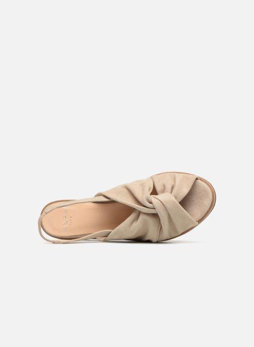 Sandals Anaki Mismi Beige view from the left