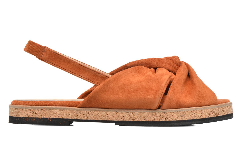 Sandales et nu-pieds Anaki Mismi Marron vue derrière