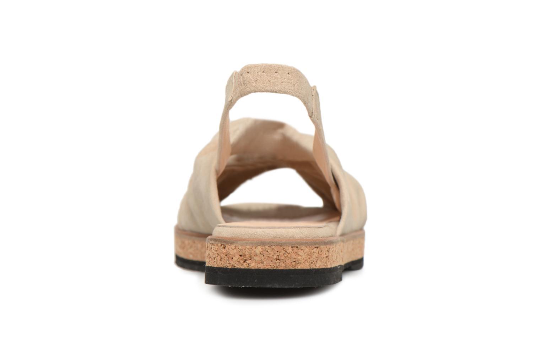 Sandales et nu-pieds Anaki Mismi Beige vue droite