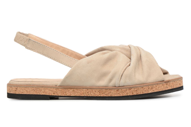 Sandales et nu-pieds Anaki Mismi Beige vue derrière