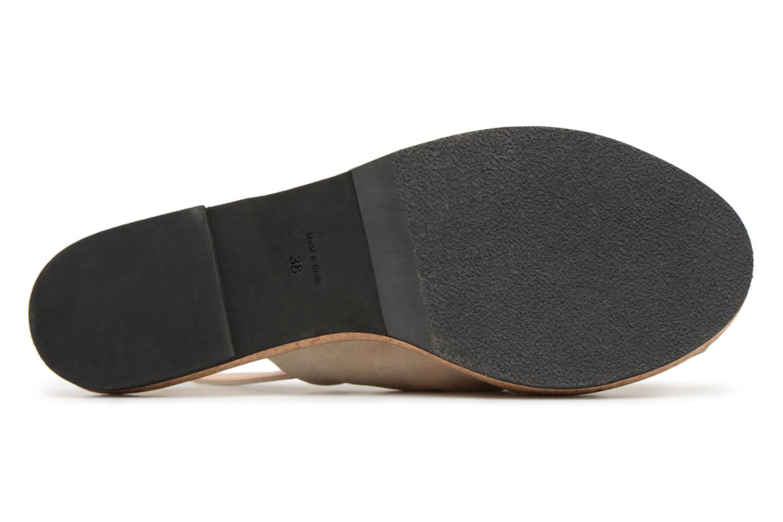 Sandales et nu-pieds Anaki Mismi Beige vue haut