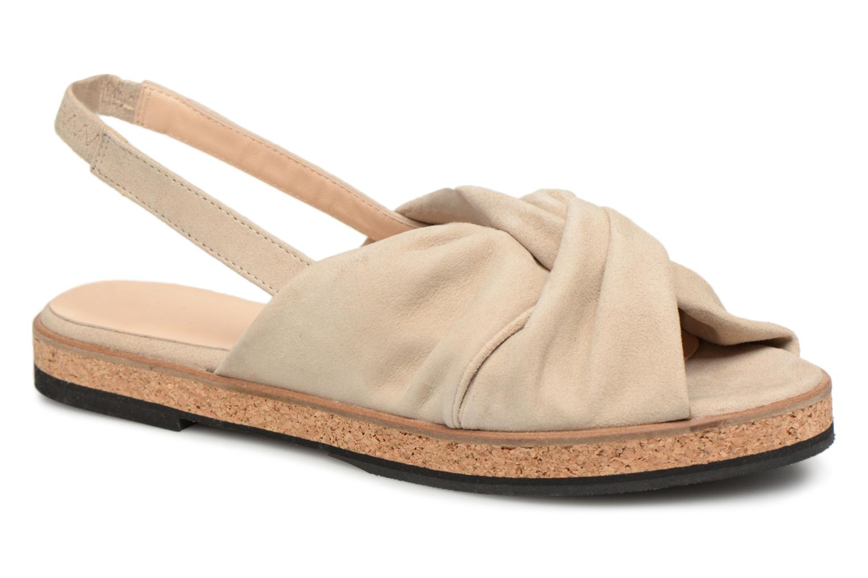 Sandales et nu-pieds Anaki Mismi Beige vue détail/paire