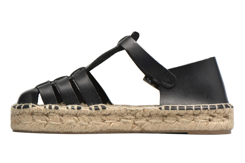 Sandals Anaki Jeri Black front view