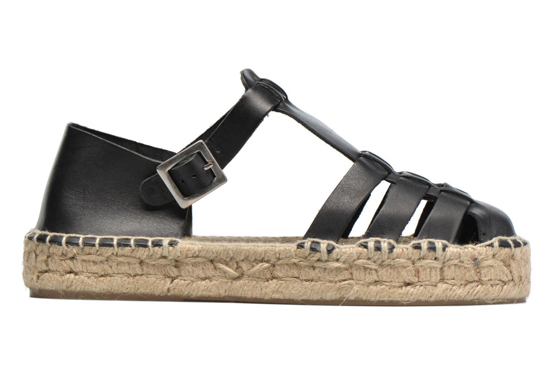Sandals Anaki Jeri Black back view