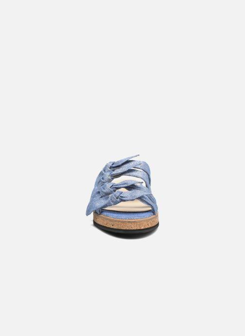 Sandales et nu-pieds Anaki Cali Bleu vue portées chaussures