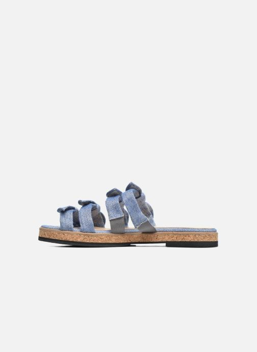 Sandales et nu-pieds Anaki Cali Bleu vue face