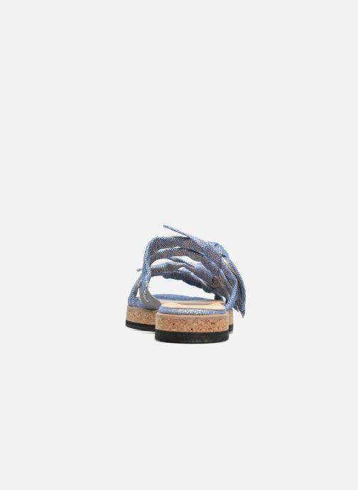 Sandales et nu-pieds Anaki Cali Bleu vue droite