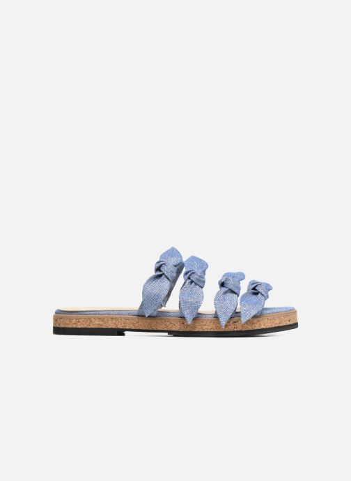 Sandales et nu-pieds Anaki Cali Bleu vue derrière