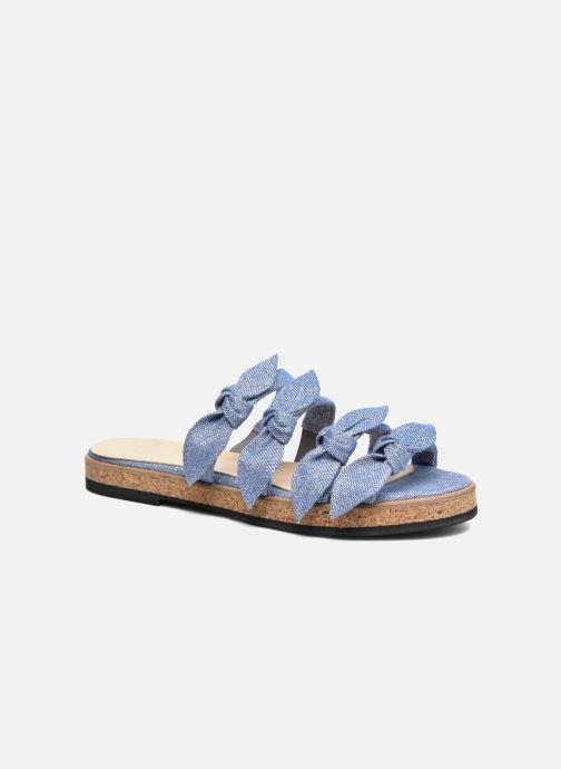 Sandales et nu-pieds Anaki Cali Bleu vue détail/paire
