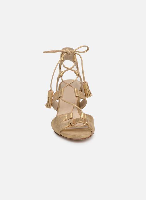 Sandalen Anaki Carilo gold/bronze schuhe getragen