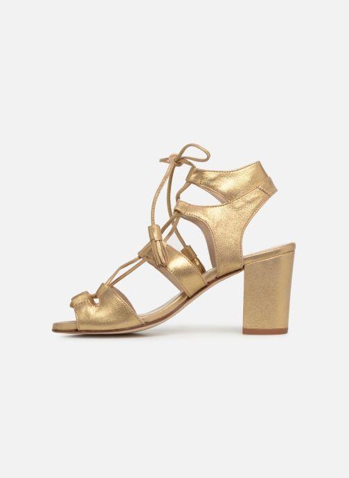 Sandales et nu-pieds Anaki Carilo Or et bronze vue face