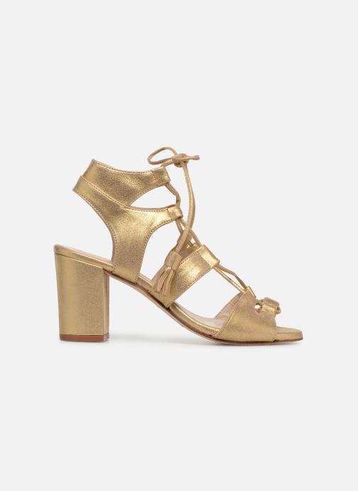 Sandales et nu-pieds Anaki Carilo Or et bronze vue derrière