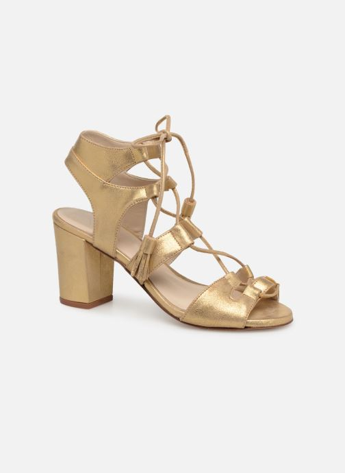 Sandals Anaki Carilo Bronze and Gold detailed view/ Pair view